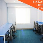woodstock plug and play office space 6 seater private cabins