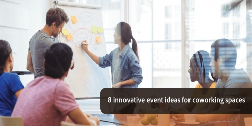 8 innovative event ideas for coworking spaces