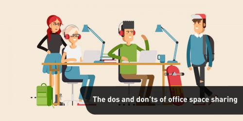 The dos and don'ts of office space sharing